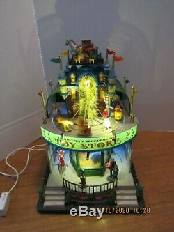 Lemax 2010 Christmas Wonderland Toy Store Lighted, Animated & Musical Works