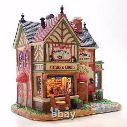 Lemax 2011 Churchill's Bakery & Bistro Signature Collection 2 Inside Scene 15223