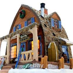 Lemax 2012 Mallard Bay Cabin Vail Village #15216 Exclusive Signature Rare Design