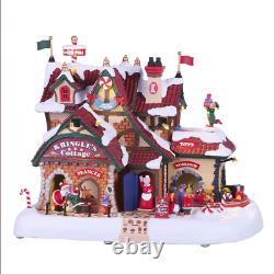 Lemax 2019 Animated Kringle's Cottage Santa's Wonderland #95462 Décor Accent