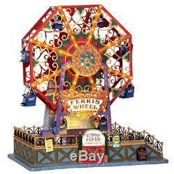 Lemax 34618 Victorian Flyer Ferris Wheel Christmas Village Carnival Ride