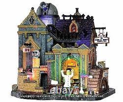 Lemax 35493 DR. GLOOM N. DOOM'S LABORATORY Spooky Town Building Halloween New I