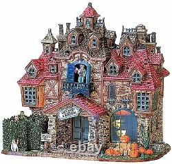 Lemax 75499 DARK HAVEN LODGE Spooky Town Building Animated Sights & Sounds I