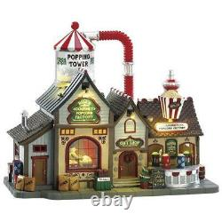 Lemax Bell's Gourmet Popcorn Factory Prelit Village Building