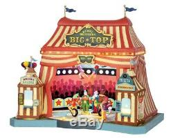 Lemax Carnival BERRY BROTHERS BIG TOP #55918 Sights & Sounds Carnival BNIB