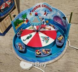 Lemax Carnival Kiddie Cruise Ride 2006 Lighted Sound Model #64488