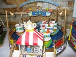 Lemax Carnival Ride Tea Cups