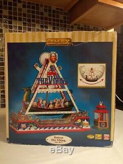 Lemax Carnival Ride The Viking Ship