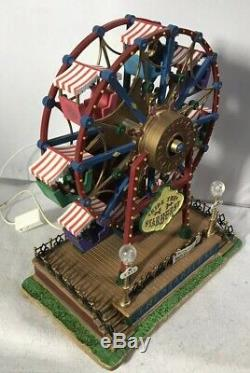 Lemax Carole Town Carnival Ride THE STARBURST Carnival Collection In Box
