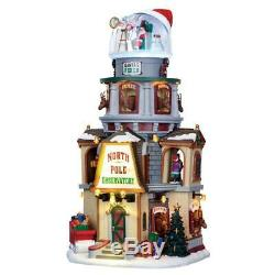 Lemax Christmas 2016 NORTH POLE OBSERVATORY #65132 NRFB Sights & Sounds Village