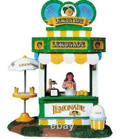 Lemax Christmas Carnival Village 2008 Lemonade 83686 Kiosk Retired 2014 RARE HTF