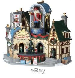 Lemax Christmas Ludwig's Wooden Nutcracker Factory Lights Music Motion New 2019