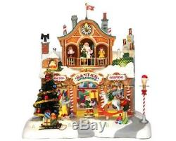 Lemax Christmas VillageSanta's WorkshopItem # 35558BNIBAnimated