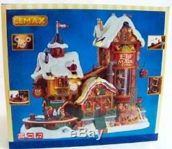 Lemax Christmas Village 2017 ELF MADE TOY FACTORY #75190 NRFB Sights & Sounds