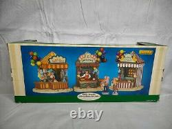 Lemax Christmas Village Collection Carnival Kiosks 43440 Retired New
