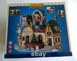 Lemax Christmas Village Ludwigs Wooden Nutcracker Factory NIB 95463