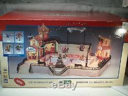 Lemax Christmas Village Parkside Ice Skating Plaza FREE SHIPPING & INS