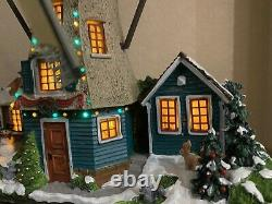 Lemax Christmas Winter WindMill, Animated, Lights VHTF! LOOK! EXTREMELY RARE