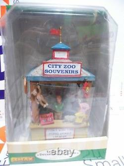 Lemax City Zoo Kiosk # 03805 Retired / Discontinued NIB Worldwide Shipping