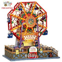 lemax collection carnival village victorian flyer ferris wheel christmas decor
