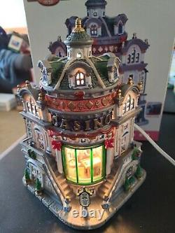 Lemax Coventry Cove Casino Lighted Building 2006 in Box