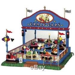 Lemax Crazy Cars Village Carnival Ride