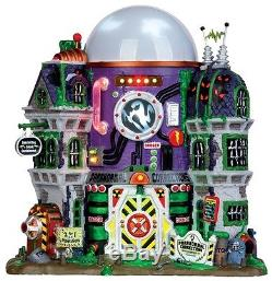 Lemax Halloween/spooky Town Ghost Containment Buildingfree Offer
