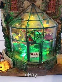 Lemax Hemlock's Nursery Spooky Town Halloween Village #45661 2014, Retired, Rare