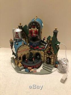 Lemax Holiday Christmas Ludwig's Wooden Nutcracker Factory Village Lemax #95463