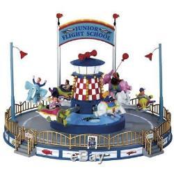 Lemax Junior Flight School Village Carnival Ride
