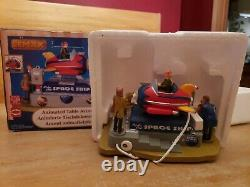 Lemax RIDE THE SPACESHIP ROCKET RIDE Animated piece 14341 Christmas EX