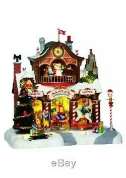 Lemax SANTA'S WORKSHOP Animated Sights & Sounds Wonderland Holiday Village