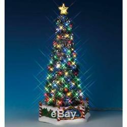 Lemax Santa's Wonderland 2018 MAJESTIC CHRISTMAS TREE #84350 NRFB Lighted b/o
