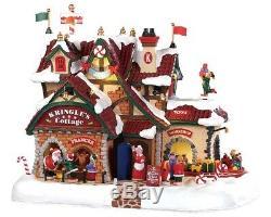 Lemax Santas Wonderland 2019 KRINGLES COTTAGE #95462 BNIB FREE SHIPPING
