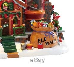Lemax Signature Elf Made Toys Animated Sights Sounds Michaels Exclusive New 2017