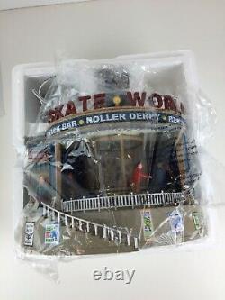 Lemax Skate World Roller Rink Village Collection 2009 95896 Working Orig Box