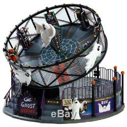Lemax Spooky Town 2017 GHOST AROUND #74221 NRFB Sights & Sounds Carnival Ride
