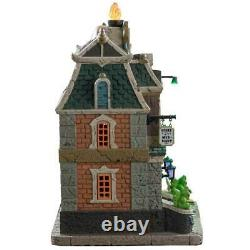 Lemax Spooky Town 2019 HAUNTED LIBRARY #95441 NRFB Halloween Village Lighted