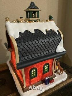Lemax St. Nick Elf Academy Lighted Christmas Village VHTF! New In Box RARE