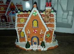 Lemax Sugar N Spice Crumb Cake Cottage