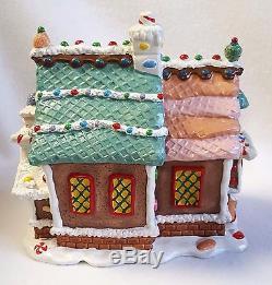 Lemax Sugar N Spice Toy Chest Porcelain Village Light Up House Original Box 6.5