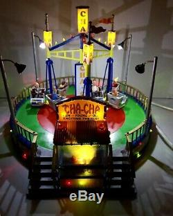 Lemax The Cha Cha Carnival Village RideAnimated with Lights & SoundsSEE VIDEO