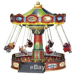 Lemax The Giant Swing Village Carnival Ride