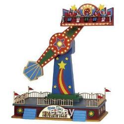 Lemax The Shooting Star #54918 Fair Winter Carnival Village Ride RARE! RETIRED