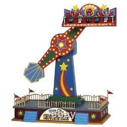 Lemax The Shooting Star Village Carnival Ride