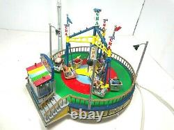 Lemax The Village Collection The Cha Cha Carnival Fair Ride with Box