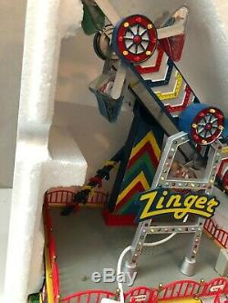 Lemax The Zinger Carole Towne Village Carnival Collection 2008 In Box
