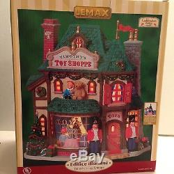 Lemax Timothys Toy Shoppe Holiday Christmas Village Lighted Retired Discontinued