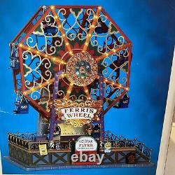 Lemax Victorian Flyer Ferris Wheel Christmas Village 34618 2013 Retired