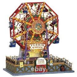 Lemax Victorian Flyer Ferris Wheel Village Carnival Ride